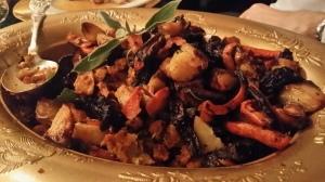 Roast veg platter