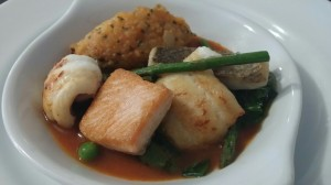 Shetland seafood
